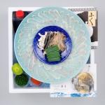 【送料無料】★最高級天然とらふぐの刺身2皿セット(4~5人前)